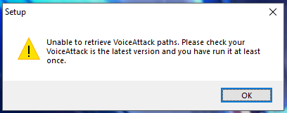 HCS Tools & Voice Pack installers unable to find VoiceAttack paths